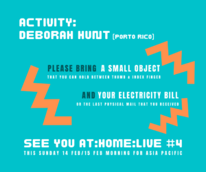 Deborah Hunt activity