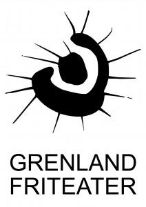 GF logo svart på hvitt, vertikal