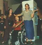 Jill, Celia and Liana