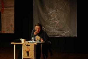 Geddy Aniksdal (on stage during TRANSIT 2009)