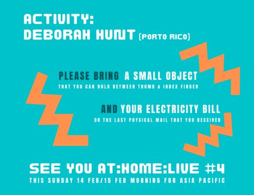 Deborah Hunt activity